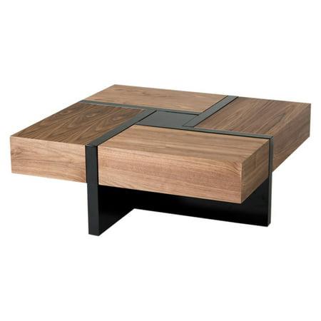 Vig Furniture Modrest Makai Square Coffee Table Walmart Com