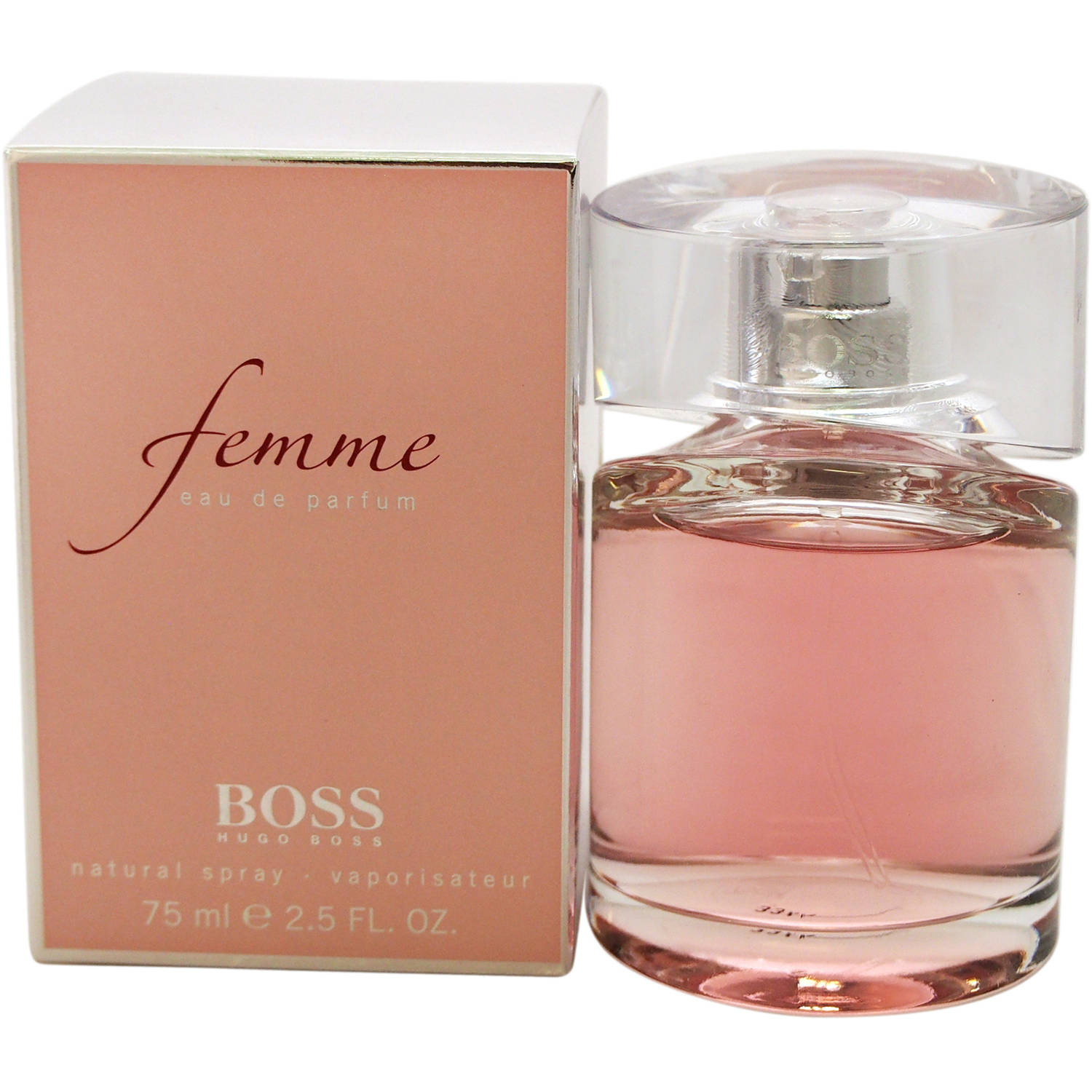 Hugo Boss Femme for Women Eau de Parfum Natural Spray, 2.5 fl oz