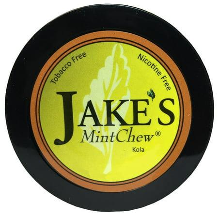 Jake's Mint Chew - Kola - Tobacco & Nicotine (Best Loose Leaf Chewing Tobacco)