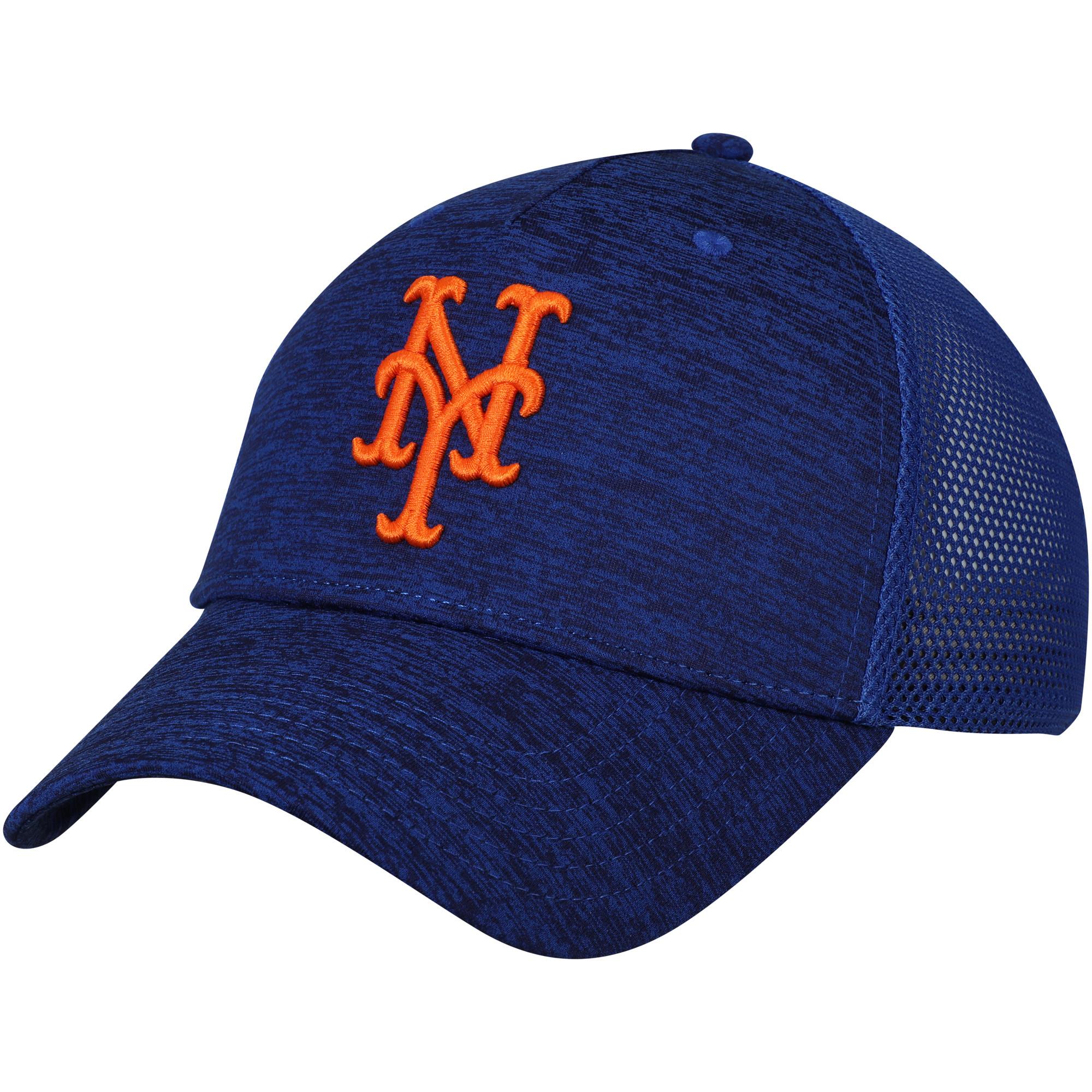 New York Mets Under Armour Twist Closer Trucker Performance Adjustable Hat - Royal - OSFA