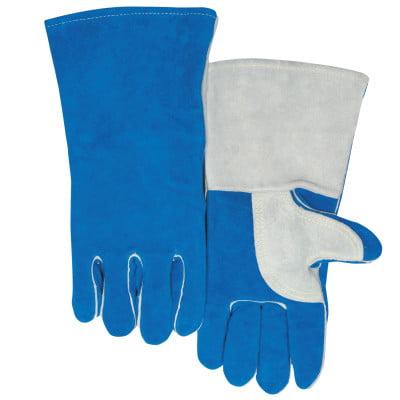 Quality Welding Gloves, Split Cowhide, Large,