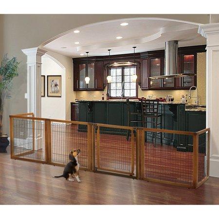 Richell Convertible Elite 6 Panel Pet Gate Medium