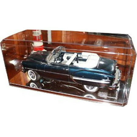 - CTBL-009808D Diecast Unsigned 1-18 Crystal Clear Display Case with Mirror-Like Base