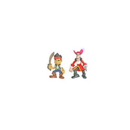 Fisher Price Hook's Battle Boat - Replacement Captain Hook & Jake Figure with Sword W5269 - Captin Hook