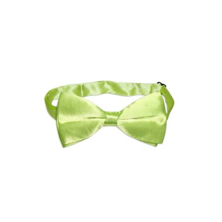 BOWTIE Solid LIME GREEN Color Men's Bow Tie for Tuxedo or Suit
