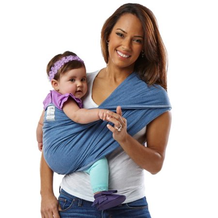 Baby K'tan ORIGINAL Baby Carrier in Denim - Small
