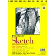 Strathmore 300 Series Acid-Free Multi-Purpose Sketch Pad - 9 x 12 in. - 100 Sheets