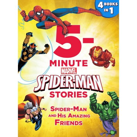 5-Minute Spider-Man Stories: Spider-Man and his Amazing Friends -