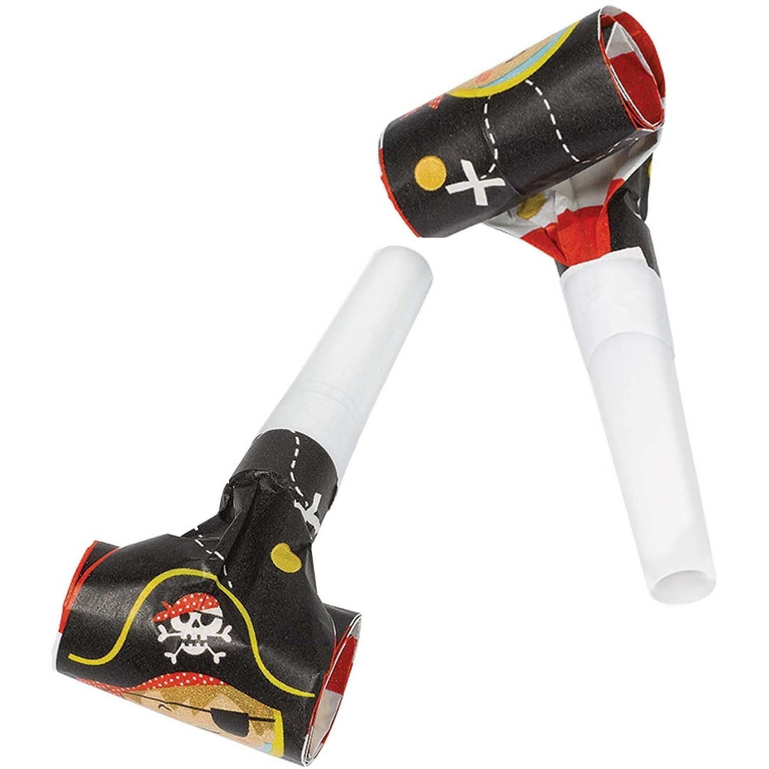 Amscan Little Pirate Party Blowouts, 8 Count