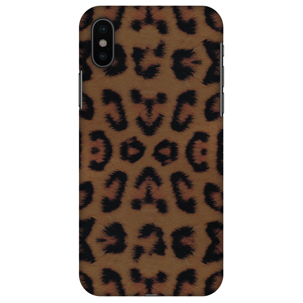 iPhone X Designer Case, Premium Handcrafted Printed Designer Hard ShockProof Case Back Cover for Apple iPhone X - Wild Leopard, Thin, Light Weight, HD Colour, Smooth Finish