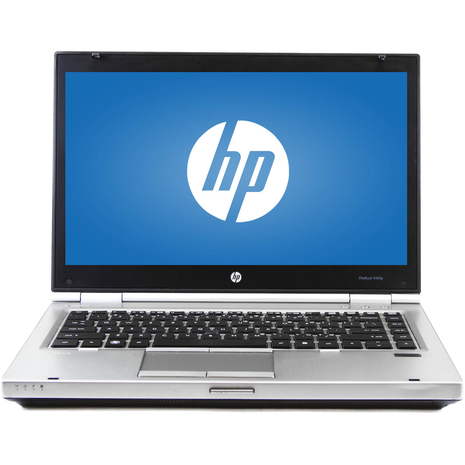 "Refurbished HP Silver 14"" Elitebook 8460P Laptop PC with Intel Core i5-2520M Processor, 8GB Memory, 240GB SSD and Windows 7 Professional"