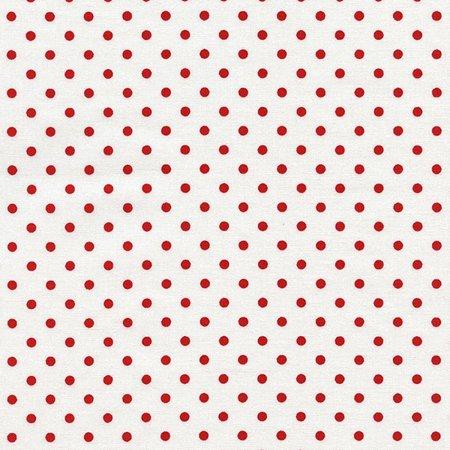 Timeless Traesures Fabrics Basic Dot Cherry Red ()
