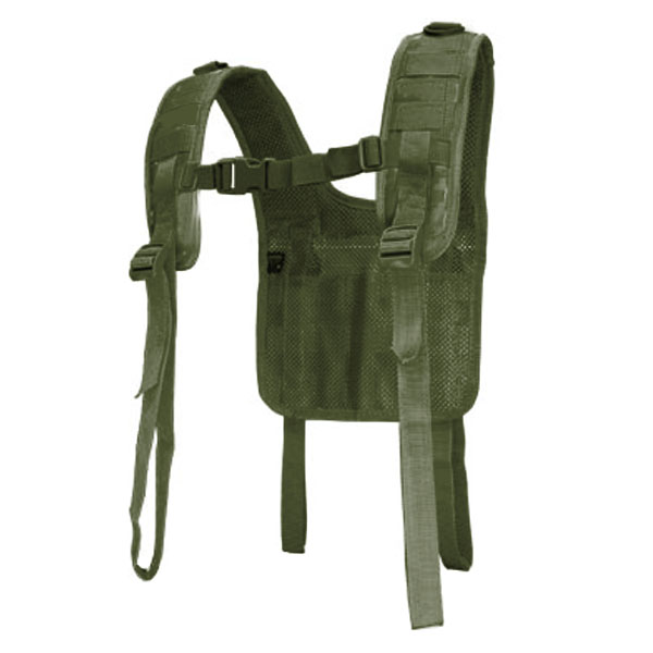 Condor #215 Tactical H-Harness for Battle Belts OD Green by Condor