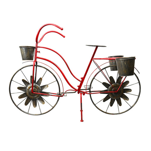 Red Carpet Studios LTD Bicycle Plant Stand by Red Carpet Studios