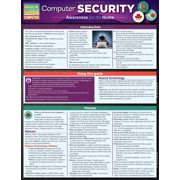 BarCharts 9781423223566 Computer Security Quickstudy Easel