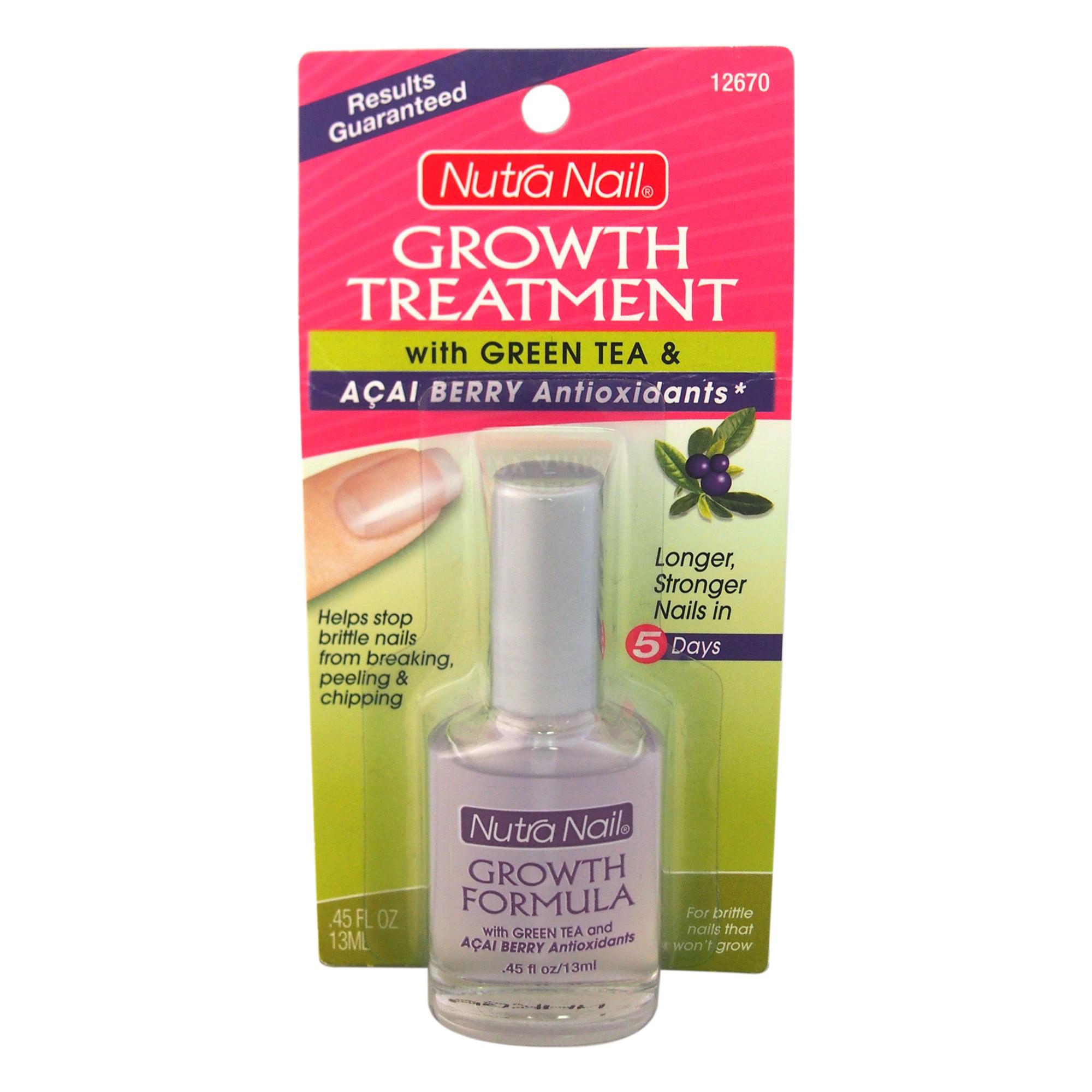 Nutra Nail Growth Treatment With Green Tea & Acai Antioxidants ...