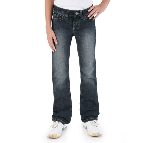 Wrangler Girls' Boot Cut Jeans