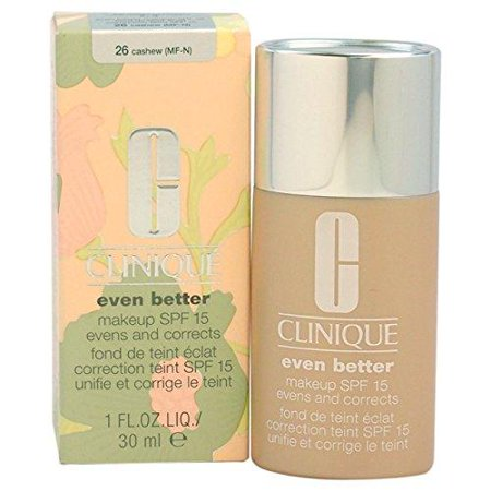 Even Better Makeup SPF 15 - # 26 Cashew (MF-N) - Dry To Combination Oily Skin Clinique 1 oz Foundation