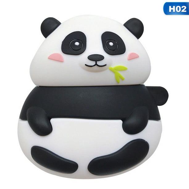 Akoada Earphone Case For Airpods 2 Case Silicone Cute Panda Pig