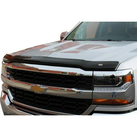 - Westin 2016-2018 Chevrolet Silverado 1500 Wade Platinum Bug Shield - Smoke