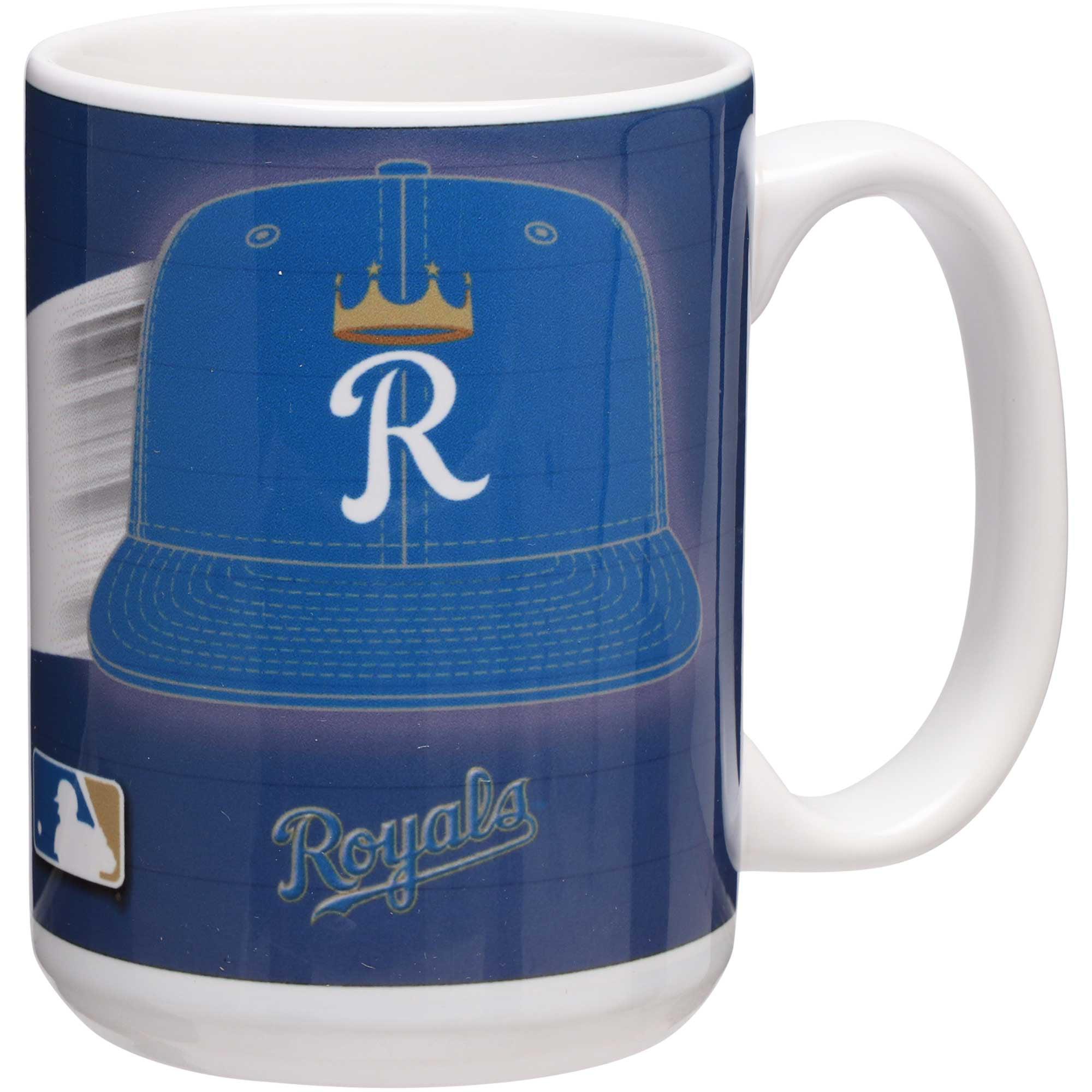 Kansas City Royals 15oz. Team 3D Graphic Mug - No Size