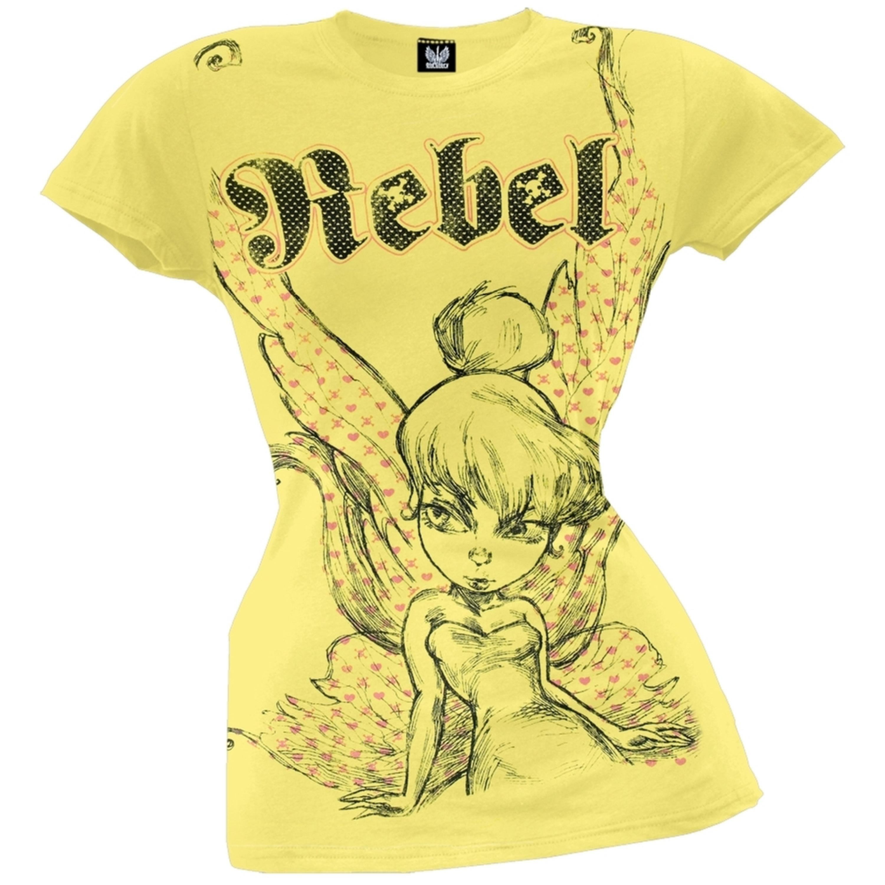 Tinkerbell - Rebel Juniors T-Shirt