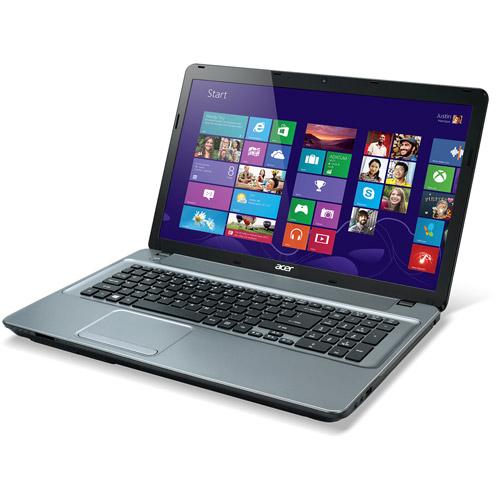 "Acer Gray 17.3"" Aspire E1-771-33116G50Mnii Laptop PC with Intel Core i3-3110M Dual-Core Processor, 6GB Memory, 500GB Hard Drive and Windows 7 Home Premium"