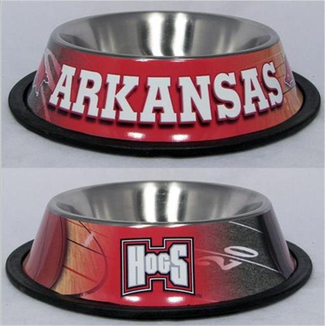 DoggieNation 716298201936 One Size Arkansas Dog Bowl - Stainless