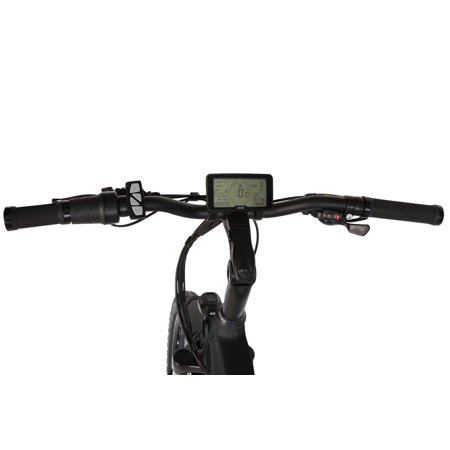 "T4B Pulse Low Step City Bike - Bafang 350W Brushless Electric Motor, 8 Speed, Samsung Li-Ion Battery 36V13Ah, 26"" Tires - Black - image 2 de 12"