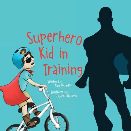 Superhero Kid in Training