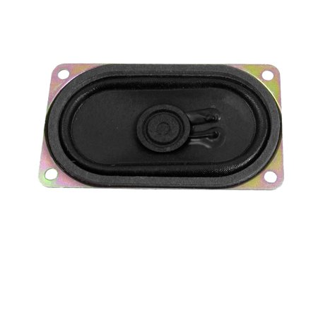3W 3 Watt 4 Ohm Aluminum Rectangular Internal Magnet Speaker