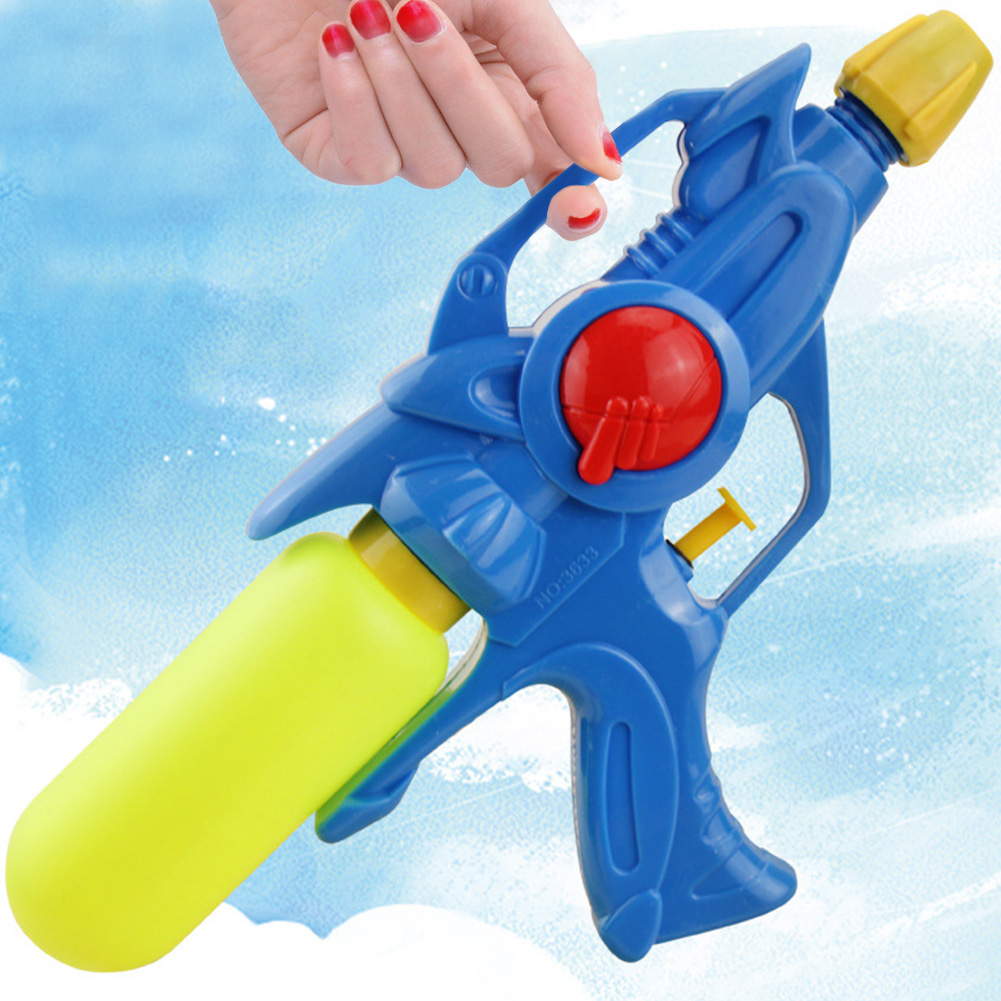 OUTOP Kids Squirt Games Water Gun, Super Soaker Blaster, Pump Action Water Pistol Toys, Color Random