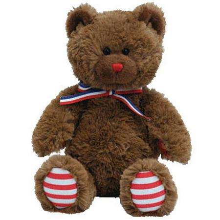 TY Beanie Baby - UNCLE SAM the Bear (Dark Brown) (7.5 inch) - Walmart.com e25759a78dd