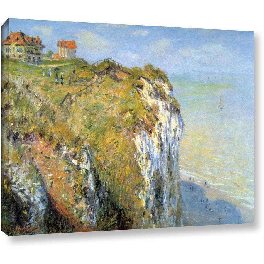 "Claude Monet ""Cliffs"" Gallery-Wrapped Canvas"