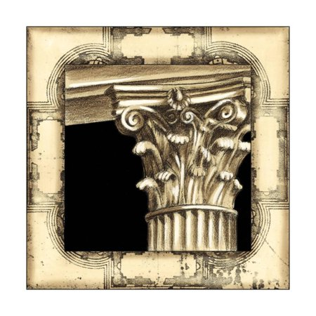 Architectural Wall Art (Small Architectural Schema II Print Wall Art By Ethan Harper)