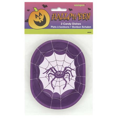 Festive Spider Halloween Candy Dish 5.5