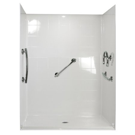 Ella Walk In Baths Freedom Four Panel Shower Wall