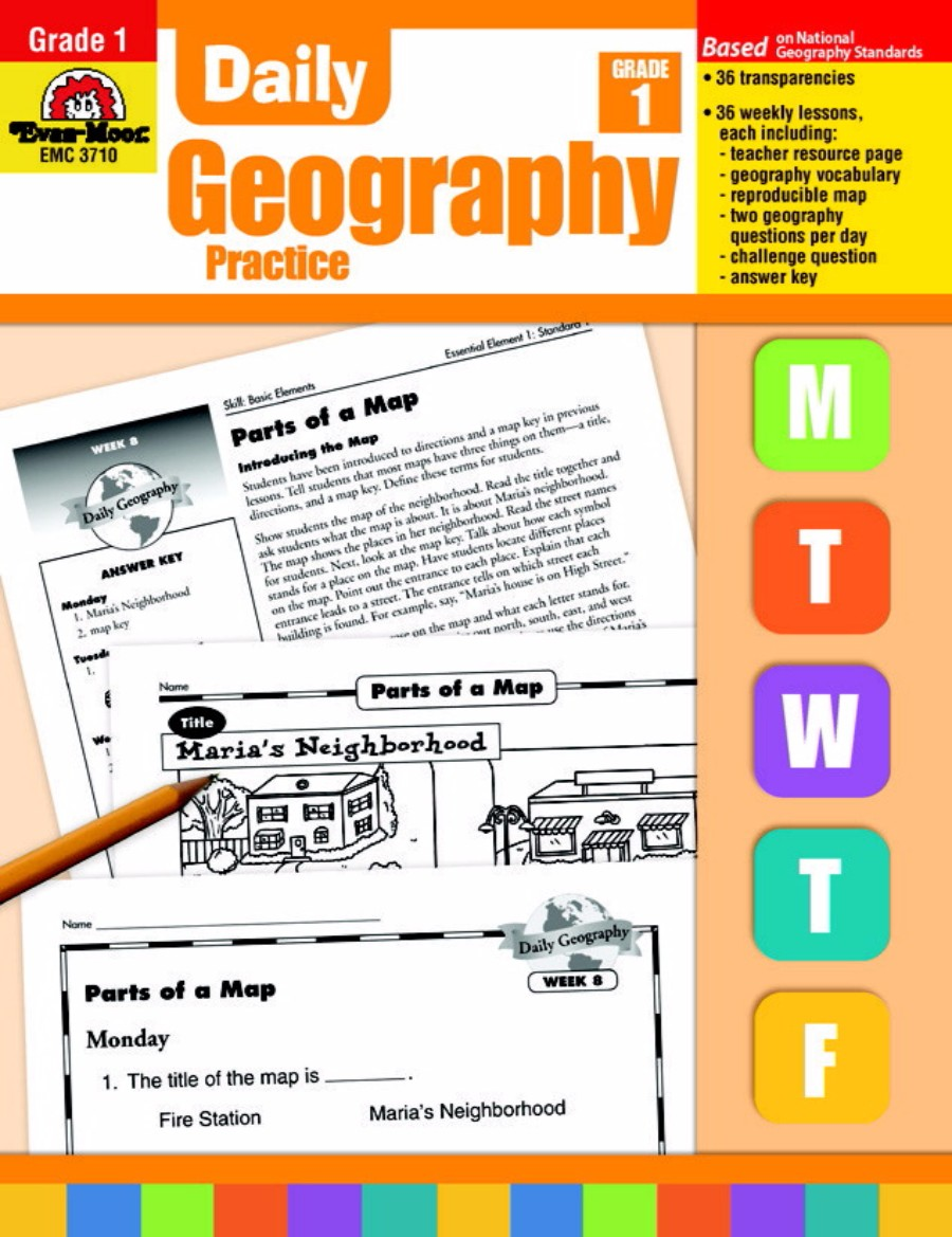 Evan-Moor Daily Geography Practice Book, Grade 1 by Evan-Moor