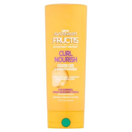 (2 Pack) Garnier Fructis Curl Nourish Conditioner 12 FL OZ