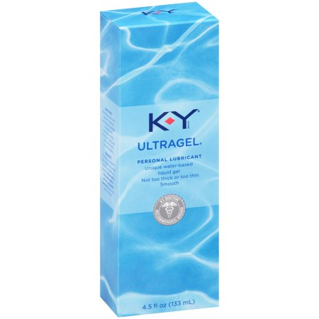 - K-Y Ultragel Personal Water Based Lubricant Gel - 4.5 oz