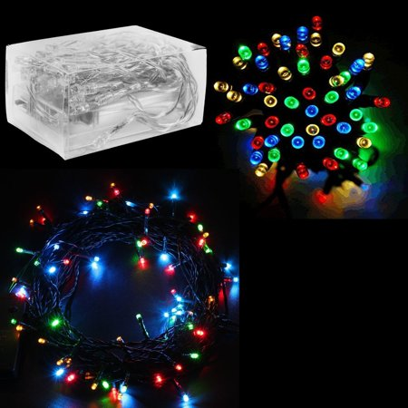 30 Mini Bulb LED Battery Operated Fairy String Lights in Assorted Colors (158
