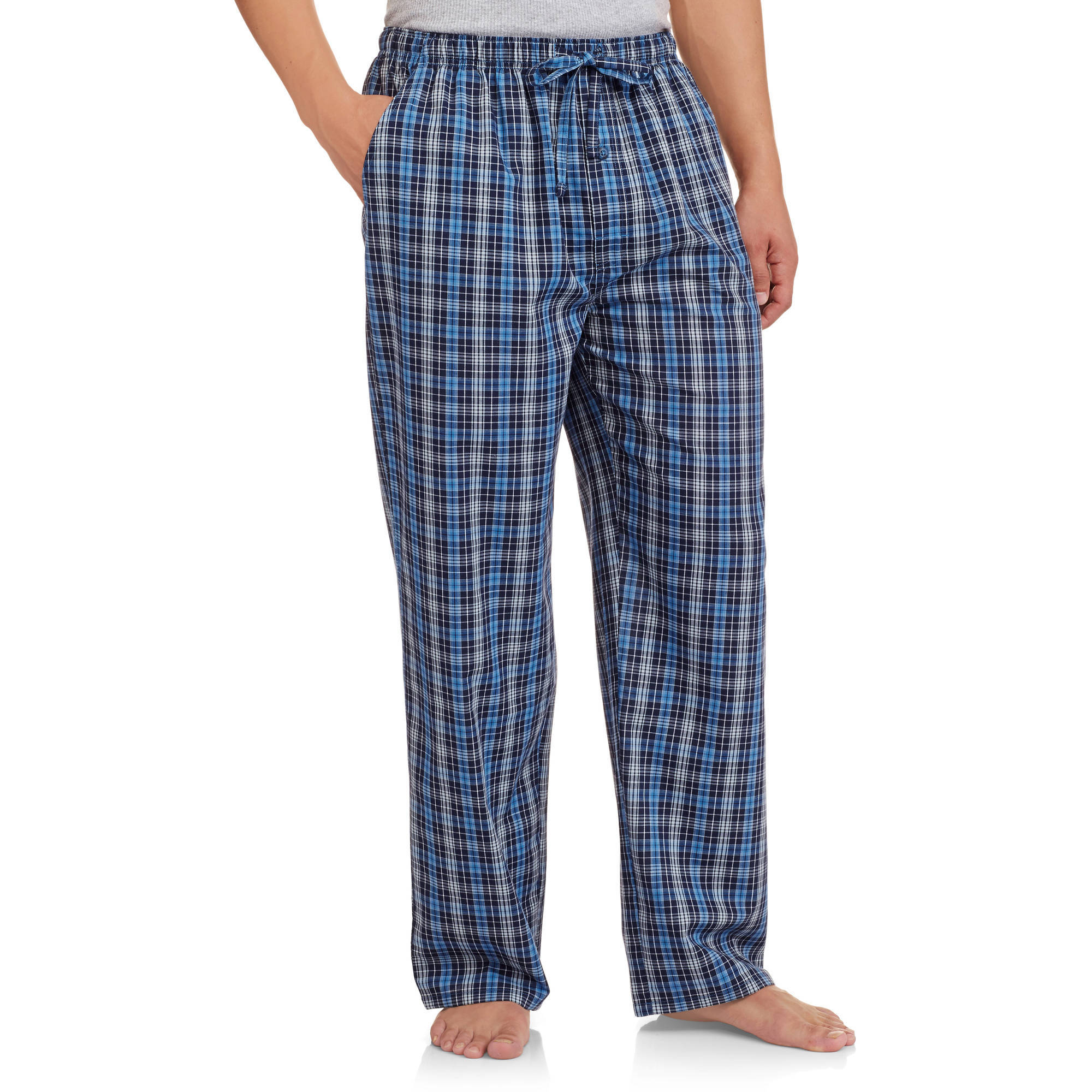 Fruit of the Loom Men's Woven Plaid Sleep Pant