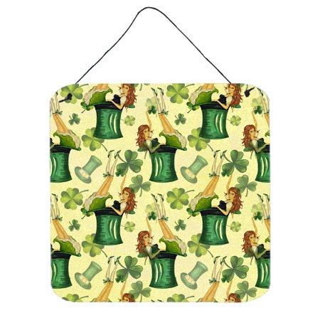 Watercolor St Patrick's Day Party Wall or Door Hanging Prints BB7559DS66](St Patrick's Day Signs)