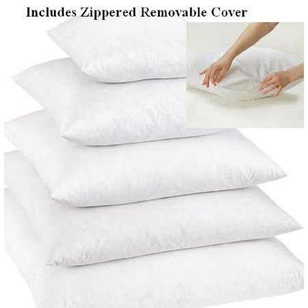 40 X 40 40% Feather 40% Down Pillow Insert Walmart Simple 26x26 Pillow Insert Walmart