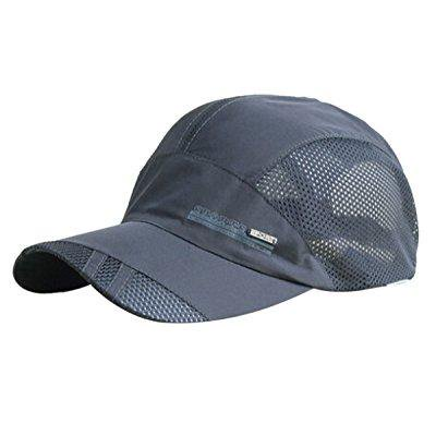... feoya unisex quick dry waterproof sun cap sports hat outdoor running  sports hat 79d4c1f4431