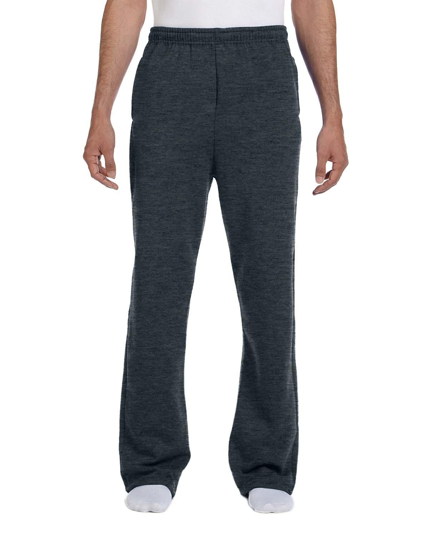 Jerzees Men's Nublend Pocketed Open Bottom Sweatpants - 974MP
