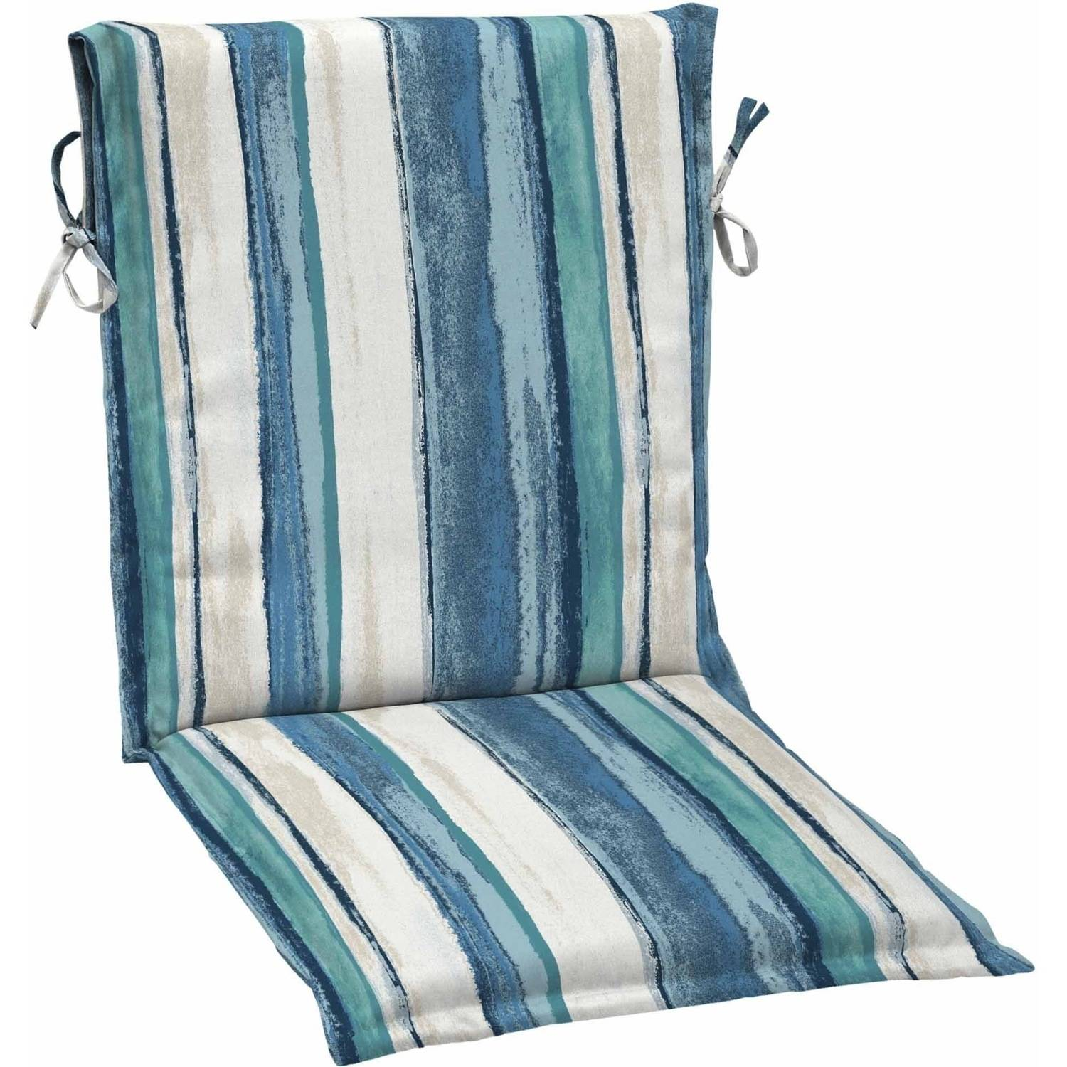 Great Mainstays Outdoor Patio Sling Chair Cushion, Multiple Patterns