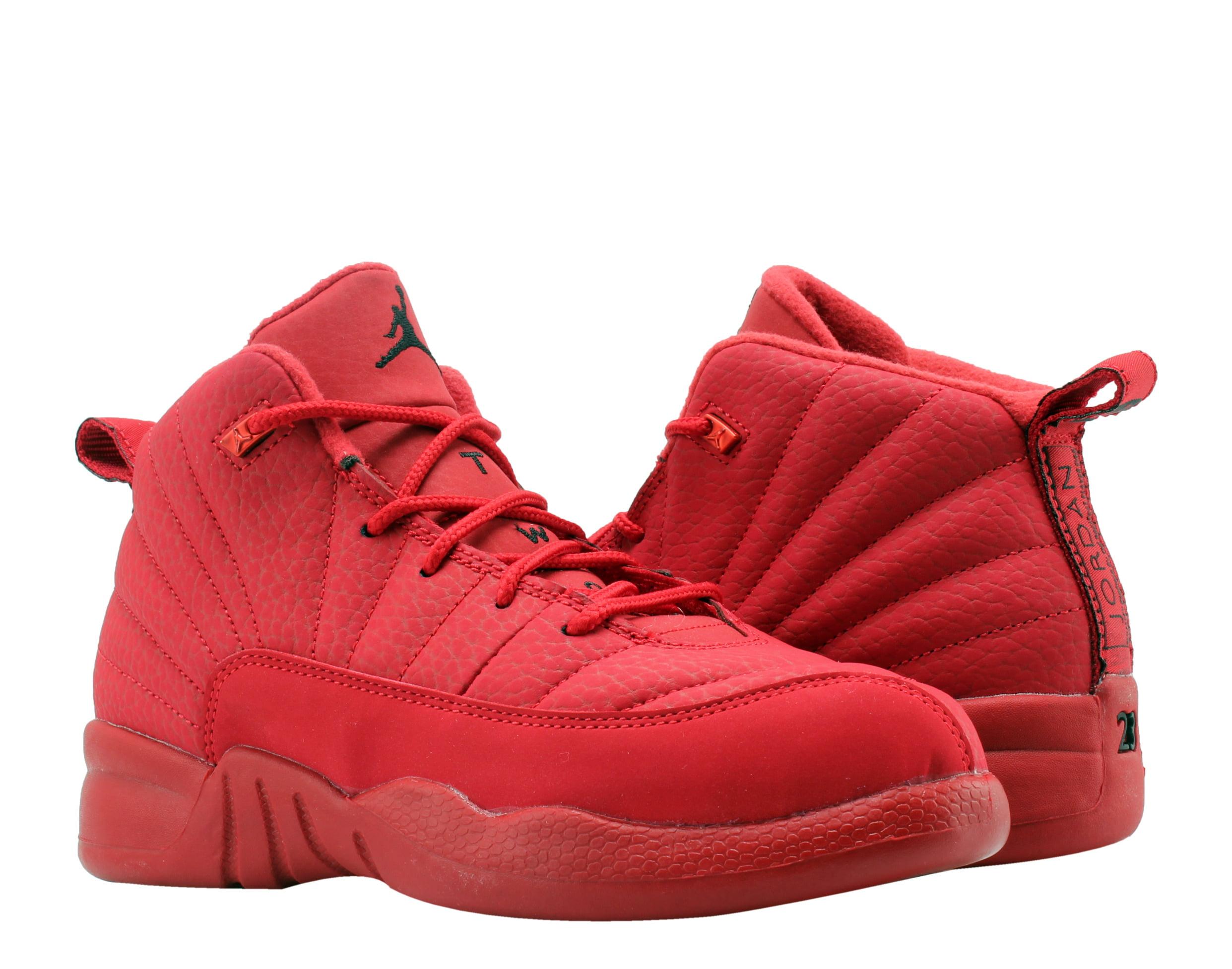Nike Air Jordan 12 Retro Gym Red (PS) Little Kids Basketball Shoes 151186-601