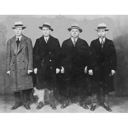 Group Of Mobsters In The 1920S Left To Right Ed Diamond History](1920s Mobster Fashion)
