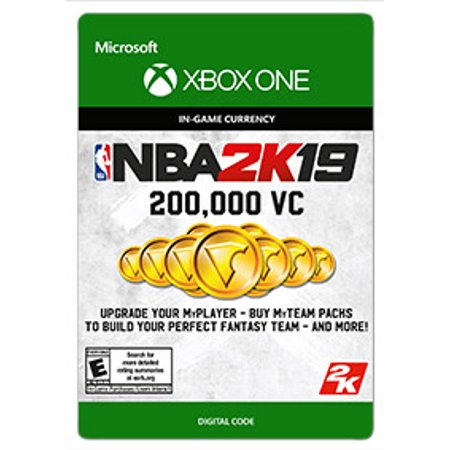 NBA 2K19 200,000 VC, 2K Games, Xbox, [Digital Download] ()